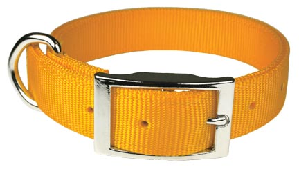 2 Ply Bravo Dog Collars from Leather Brothers