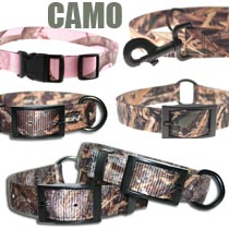 Leather Brothers Camo Collars